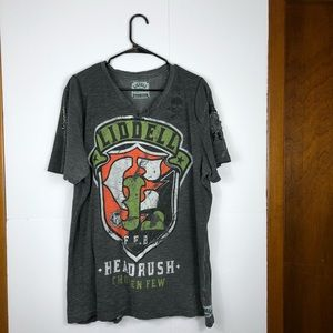 Other - Liddel by Headrush distressed t shirt Sz 2XL